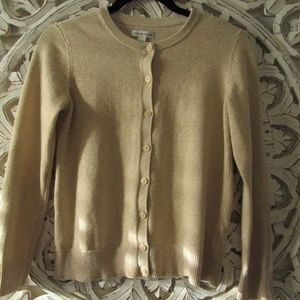 Croft & Barrow Sparkle Cardigan Sweater Petite